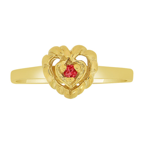 Fine Gold Purity and Promise Lady Rings 14k