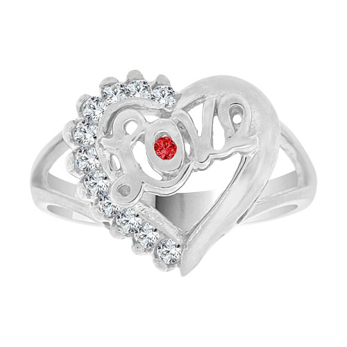 crystals lady fine heart ladies cz love white classic rings gold givemegold design ring created rhodium shape