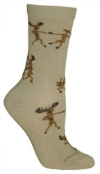 Dancing Moose Socks