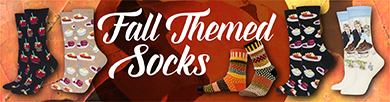Fall Themed Socks