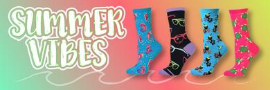 Summer Themed Socks