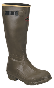 """La Crosse Burly 18"""" Cleated Olive Drab Boots Size 8 - 1 Pair"""