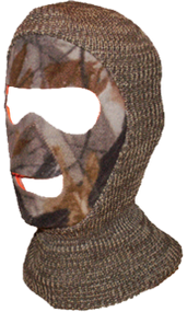 Youth Reversible Face Mask Adv. Brn/Blaze