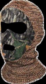 Youth Knit/Fleece Mask Adv. Gre y