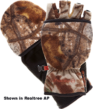 Bowhunter Convertible Gloves/ Mitten Realtree Xtra Medium - 1 Pair