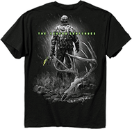 Buck Wear Legend Continues Short Sleeve T-Shirt Black Large