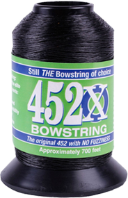 BCY 452X Bowstring Material Black 1/8# Spool