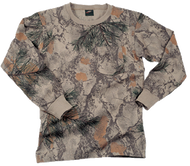 Natural Gear Long Sleeve T-Shirt Natural Camo Medium