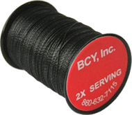 BCY #2X Serving .015 Black Bowstring Material