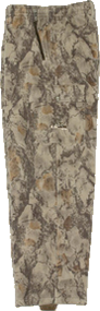 Natural Gear Fleece Pants Natural Camo Medium