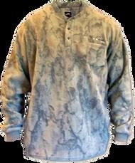 Natural Gear 3 Button Layering Fleece Henley 2Xlarge