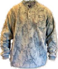 Natural Gear 3 Button Layering Fleece Henley Xlarge