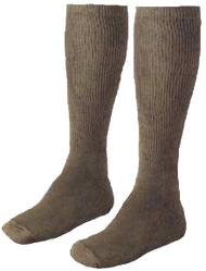 "Arctic Shield Boots Socks 18"" Calf Olive Drab Green Medium"