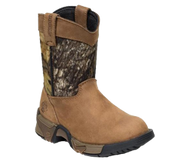 Rocky Kids Aztec Pull-on Boots Mossy Oak Breakup/Brown Size 4 - 1 Pair