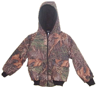 Boys Bomber Jacket Mossy Oak Breakup 6 - 7
