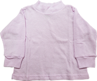 Girls Long Sleeve Pink Thermal 12 Months