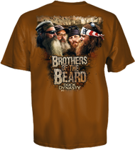 Youth Duck Dynasty S/S T-Shirt Beard Brothers Texas Orange S