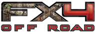 FX4 Mossy Oak Off Road Decal