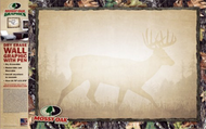 Mossy Oak Dry Erase Board Camo Border Whitetail