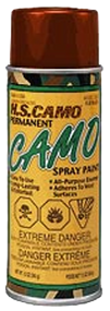 HS *12oz Mud Brown Camo Spray Paint