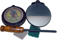 Callmasters Silver 3-D Triple Tone Pot Turkey Call