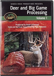 Outdoor Edge Deer Processing 101 DVD