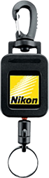 Nikon Retract Rangefinder Black Tether