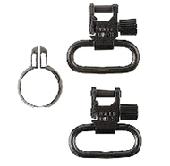 "Mikes QD115 CF 1"" Sling Swivels - 1 Pair"