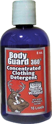 Body Guard 360 Concentrated Clothing Detergent Scent Eliminator