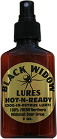 Black Widow Hot n Ready Northern Estrus 3oz Scent