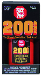 Buck Stop 200 Proof Doe In Heat Essence Scent