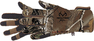 Bow Stalker Fleece Gloves Realtree Xtra Camo Large - 1 Pair
