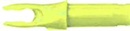 Victory Bohning A Neon Yellow Nock - 1 Dozen