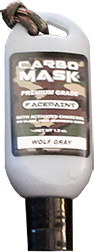 Carbomask 1.5oz Face Paint Wolf Gray