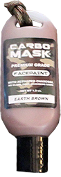 Carbomask 1.5oz Face Paint Earth Brown