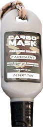 Carbomask 1.5oz Face Paint Desert Tan