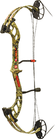"PSE 2015 Fever Mossy Oak Infinity Right Hand 25"" 50# Youth Bow"