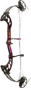 "PSE 2015 Fever Purple Rain Right Hand 25"" 40# Compund Bow"