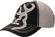 Browning Big Mark Black/Grey Two Tone Cap