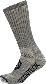 Scentlok Thermal Boots Socks Grey Large - 1 Pair