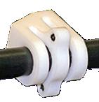 Radius Cable Slide White Cable Guard