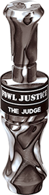 Duel Judge Duck Call Single Reed Black Ghost Color
