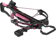 Barnett 2016 Recruit Youth 100 Crossbow Package w/Red Dot Sight Pink