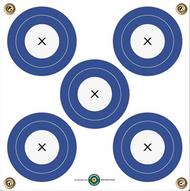 "Arrowmat 5 Spot Target 17""x17"" - 3 Pack Paper Targets"