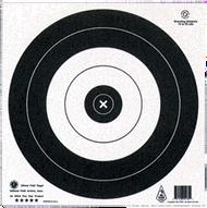 Maple Leaf 35 CM Field Paper Target - 10 Pieces