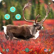 Arrowmat Caribou Target 17x17 - 3 Pack Paper Targets