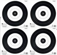 Maple Leaf 20CM NFAA 4 Spot Official Field Paper Target - 25 Pieces