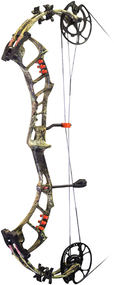 "PSE 2017 Bow Madness Epix Bow Only Right Hand Compound Bow 29"" 70# Mossy Oak Country Camo"