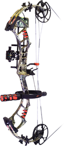 "PSE 2017 Bow Madness Epix RTS Package Right Hand Compound Bow 29"" 60# Mossy Oak Country Camo"