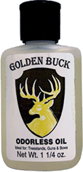 Golden Buck Hunters Odorless Oil